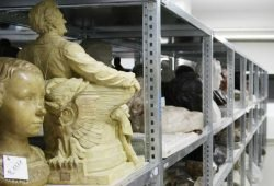Blick in den Fundus des Stadtgeschichtlichen Museums. Foto: Ralf Julke