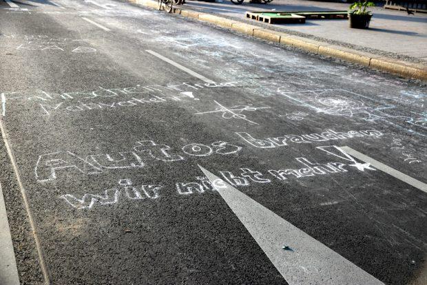 Das Ziel der Demonstranten für den Ring am Hauptbahnhof: keine Autos mehr. Foto: L-IZ.de