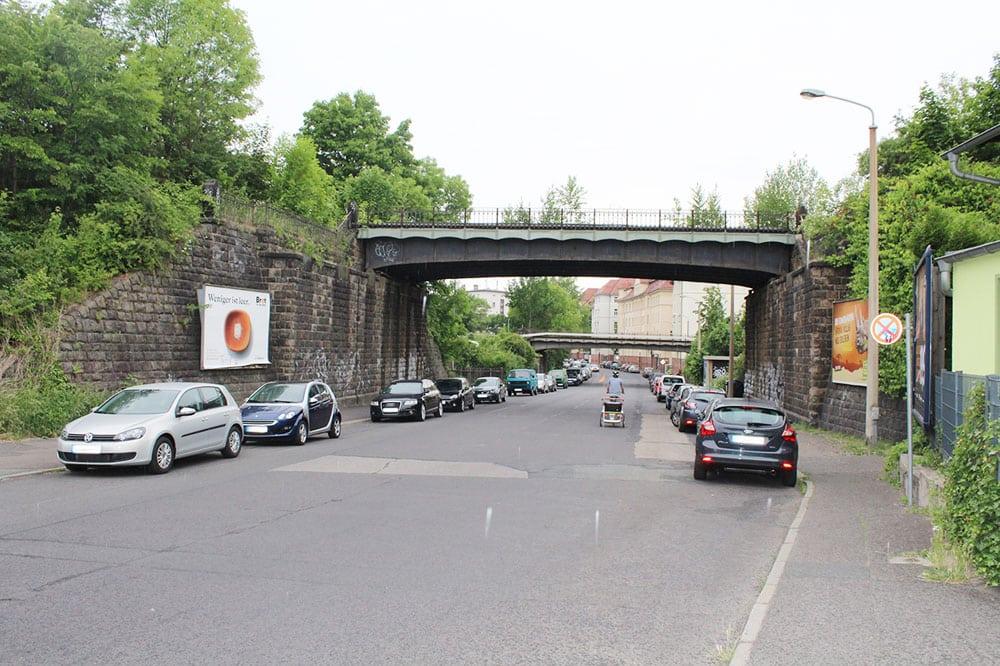 Die alte Bahnbrücke an der Oststraße. Foto: Deutsche Bahn