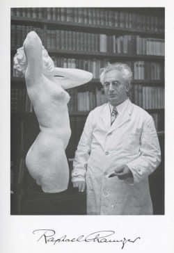 Raphael Chamizer in seinem Leipziger Bildhaueratelier, 1935. Foto: Rubin Maas
