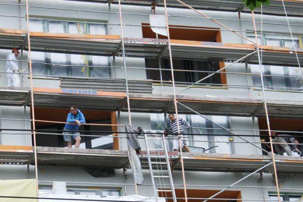 Sanierungen sollen durch Erhaltungssatzungen nicht verhindert werden. Foto: Ralf Julke