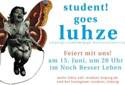 Party am Samstag, den 15. Juni. Grafik: student!