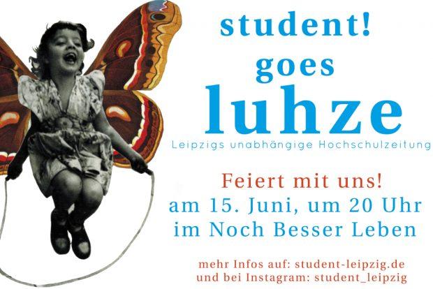 Party am Samstag, den 15. Juni. Grafik: student!