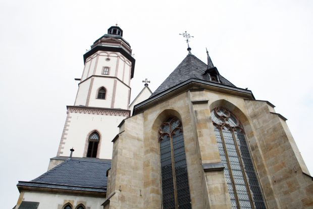 Die Thomaskirche. Foto: Ralf Julke