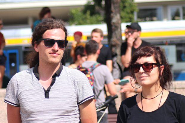 Jürgen Kasek und Kordula Kuhnert vom LiveKommbinat. Foto: L-IZ.de