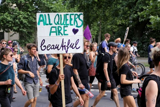 All Queers are beautiful. Foto: Alexander Böhm