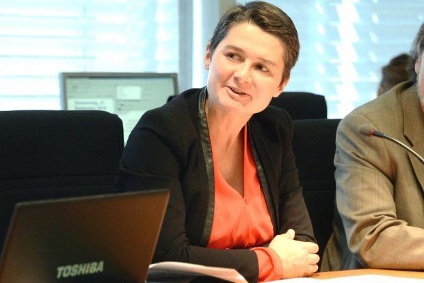 Daniela Kolbe, Leipziger SPD-Bundestagsabgeordnete. © Bilderdienst des Bundestages, Achim Melde