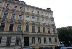Das Geburtshaus Walter Ulbrichts in Leipzig in der heutigen Gottschedstraße 25. © Lucas Böhme