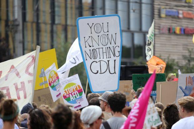 CDU, du weißt nichts. Foto: Alexander Böhm
