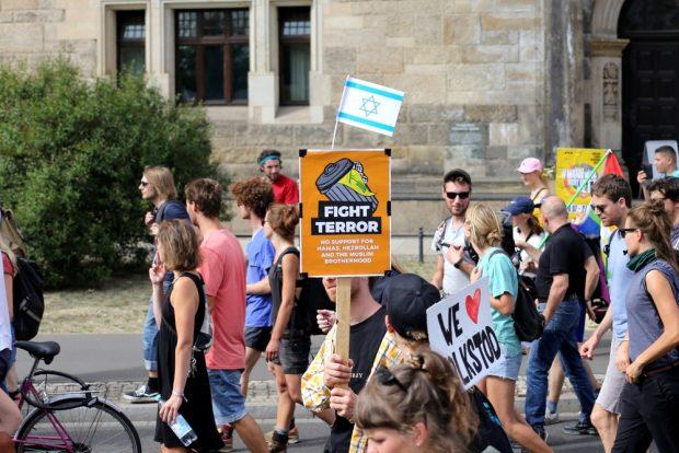 Fight terror. Foto: Alexander Böhm