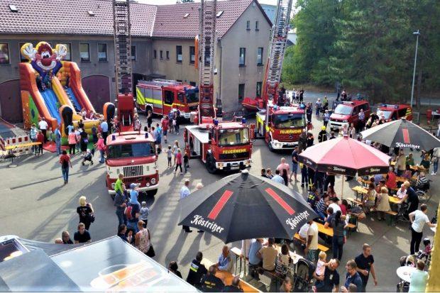 Florianstag. Quelle: Feuerwehr Borna