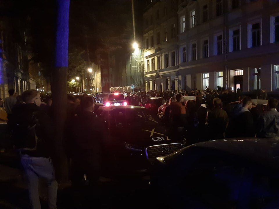 Gegen Abschiebungen in der Hildegardstraße. Foto: L-IZ.de