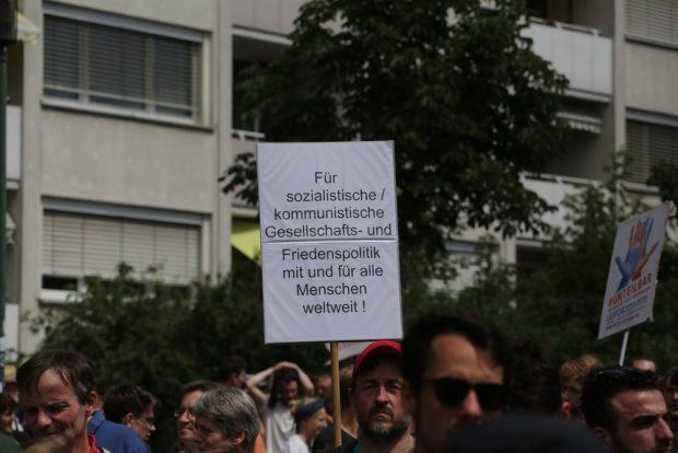 Gesellschafts- und Friedenspolitik. Foto: Alexander Böhm