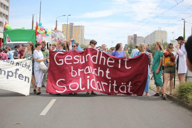 Gesundheit braucht Solidarität. Foto: Alexander Böhm