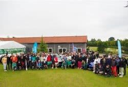 Gruppenbild aller Golfer. Quelle: SC DHfK