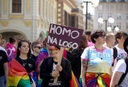Homo na Logo. Foto: Alexander Böhm