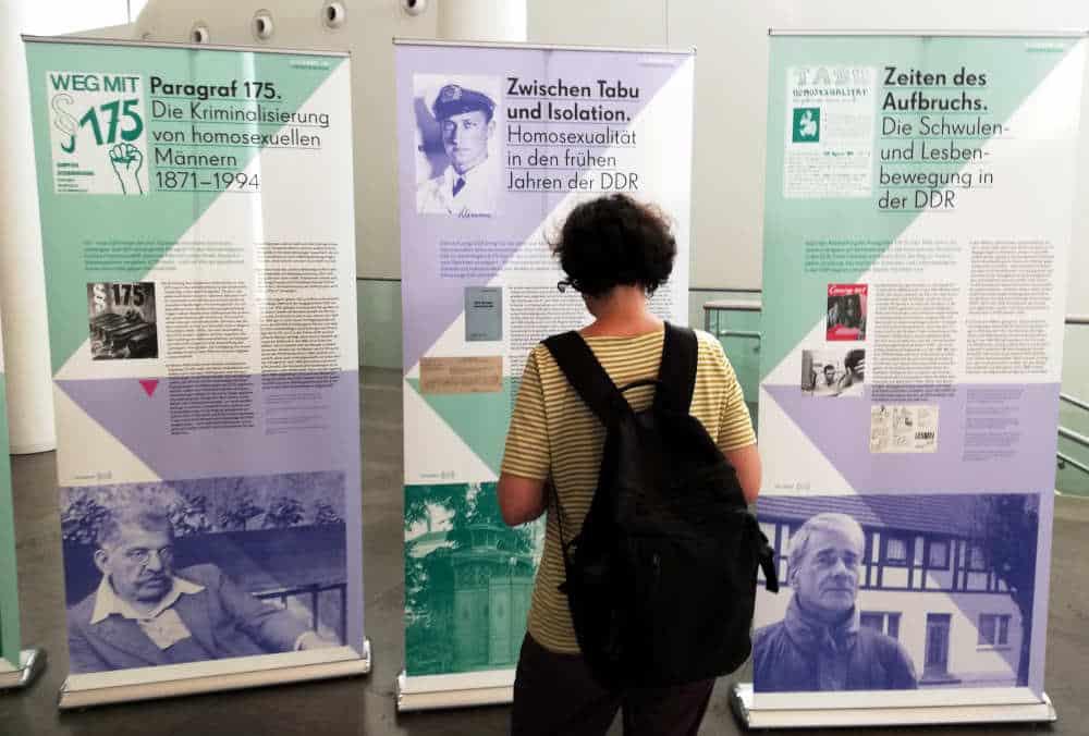 """Ausstellung """"L(i)eben im Verborgenen"""" im Augusteum. Foto: Martin Schöler"""