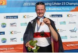 Johanna Reichardt ist Vizeweltmeisterin im U23 Leichtgewichts-Einer. Foto: Deutscher Ruderverband / Detlev Seyb