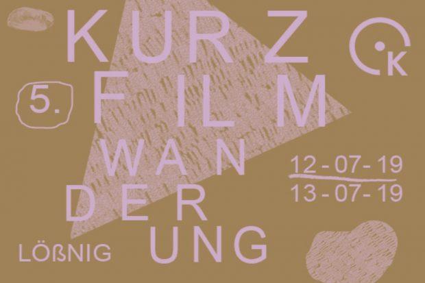 Kurzfilmwanderung Leipzig Flyer