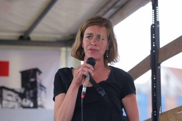 Landtagsabgeordnete Juliane Nagel (Linke). Foto: Alexander Böhm