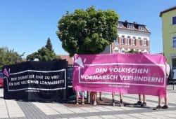 Kundgebung gegen die AfD in Naunhof. Foto: René Loch