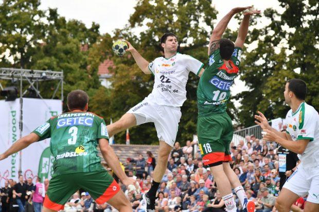 Leipziger Internet Zeitung: SC DHfK Handball: Spektakel in