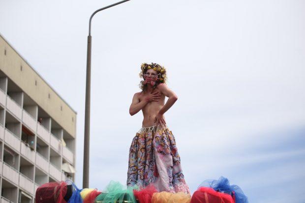 Performance. Foto: Alexander Böhm