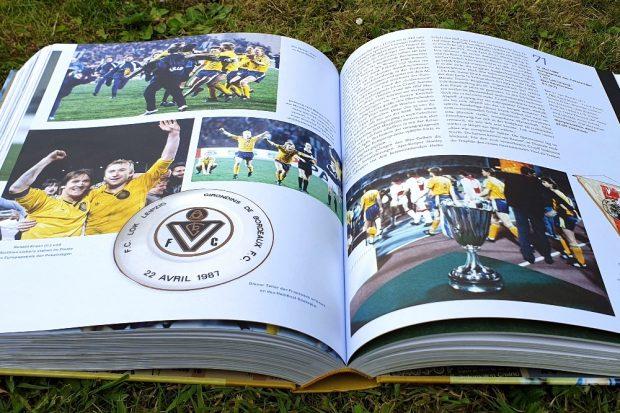 Prall gefüllt mit Erinnerungen an große Fußballmomente. © Jan Kaefer