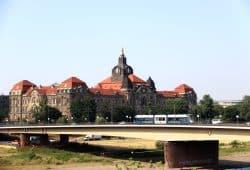 Die Sächsische Staatskanzlei in Dresden. Foto: L-IZ.de