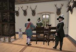 Screenshot von der virtuellen Welt der neuen VR-Medienstation auf der Festung Königstein. © Screenshot VR-Medienstation Haase & Martin GmbH, Software ArcTron 3D GmbH