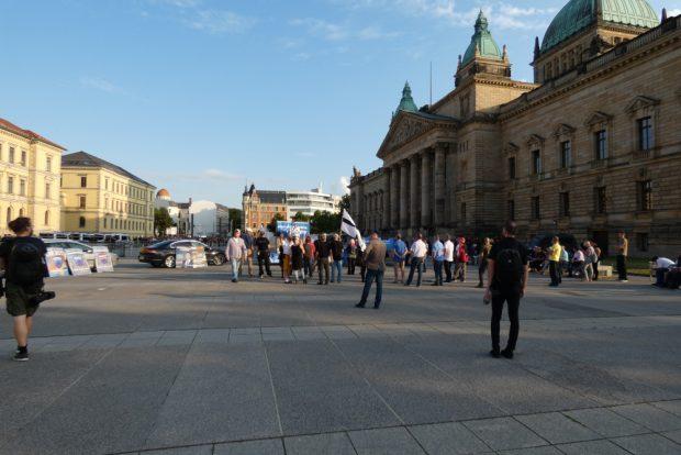 Der Zulauf der AdPM blieb überschaubar. Foto: L-IZ.de