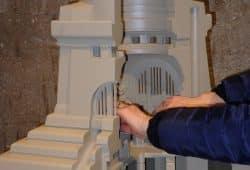 Tastmodell Völkerschlachtdenkmal. Foto: SGM
