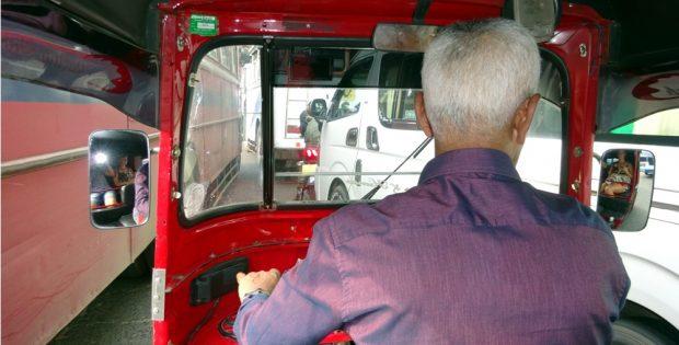 Woher, wohin? Tuktuk fahren in Sri Lanka. Foto: Sascha Bethe