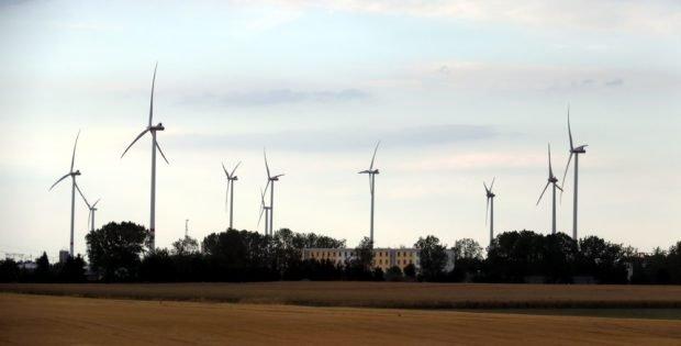 Windenergie in Sachsen. Foto: L-IZ.de