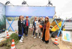 Influencer-Aktion des Beltretter e.V. Mitte Juli in Hamburg. Foto: Beltretter e.V.