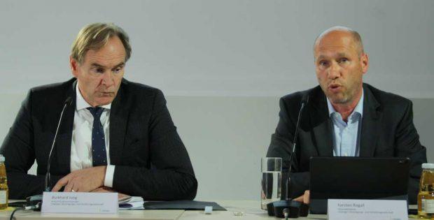 Burkhard Jung und Karsten Rogall. Foto: Ralf Julke