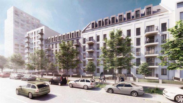 LWB Neubauvorhaben an der Straße des 18. Oktober. Visualisierung: ARGE ICL Ingenieur Consult | Mann & Schott Architekten