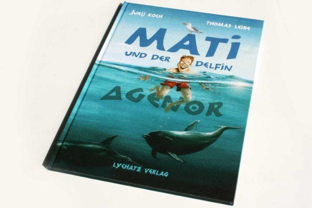 Jurij Koch, Thomas Leibe: Mati und der Delfin Agenor. Foto: Ralf Julke