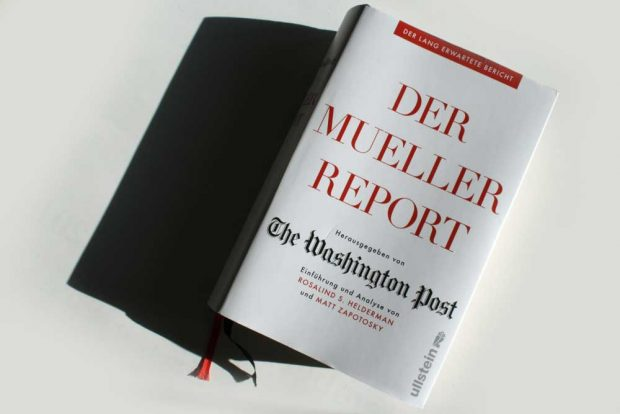 The Washington Post (Hrsg.): Der Mueller Report. Foto: Ralf Julke