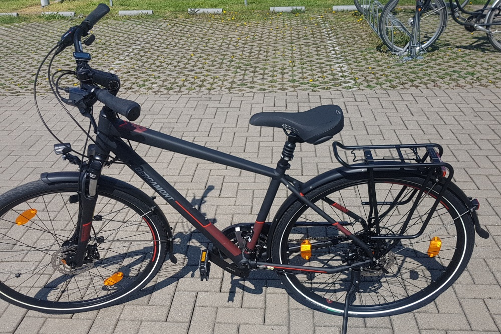 Das gestohlene Fahrrad. Foto: PD Leipzig