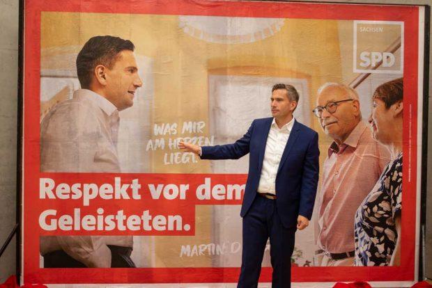 """Martin Dulig: """"Respekt vor dem Geleisteten."""" Foto: SPD Sachsen"""