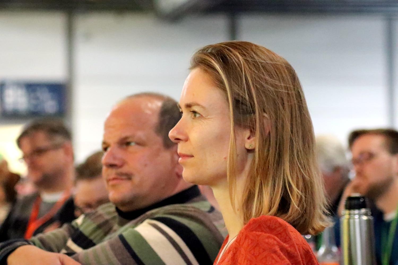 Anna Cavazzini, Abgeordnete der Grünen im EU-Parlament. Foto: L-IZ.de