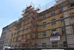 Dachsanierung Fuchshainer Straße 5-7. Quelle: VLW eG