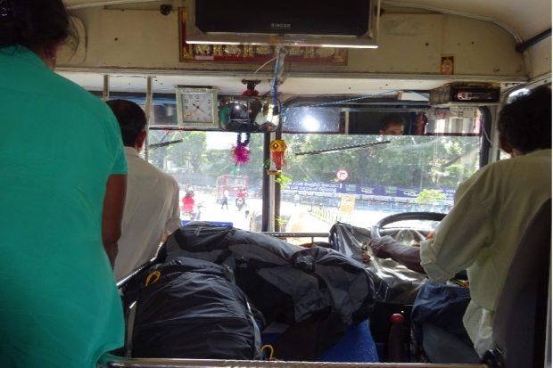 Der Bus nach Polonnaruwa. Einer passt immer noch rein! © Sascha Bethe