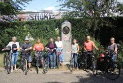 """Das Team von Notenspur und ADFC freut sich auf die Radtour zum Start von """"Clara im Park"""", Foto: Andre Kempner"""