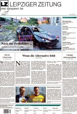 Die LZ Nr. 70, Ausgabe August 2019. Screen: LZ-Titeblatt