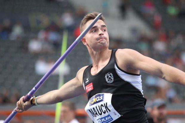 Jakob Nauck (DHfK) hat sein Minimalziel Finale erreicht. Foto: Jan Kaefer