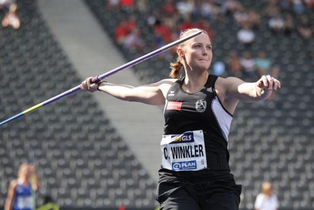 Eine neue persönliche Bestleistung war für Christine Winkler (DHfK) diesmal nicht drin - dafür Bronze. Foto: Jan Kaefer