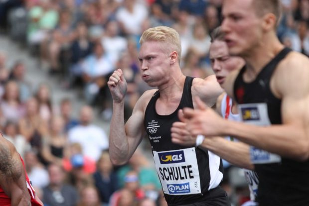 Marvin Schulte (DHfK) war schnellster Leipziger Sprinter, aber weit vom Podium entfernt. Foto: Jan Kaefer
