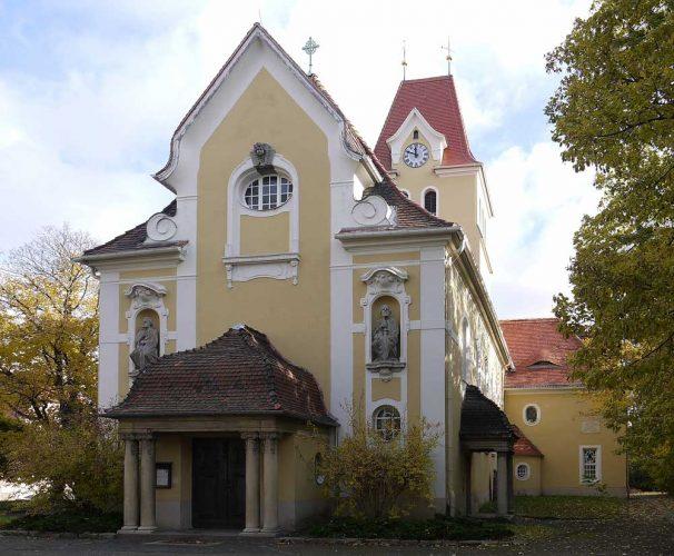 Die Apostekirche ohne Planen. Foto: S. Kuntzsch